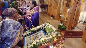 Kursk-Root Icon Makes Historic Visit to British Diocese