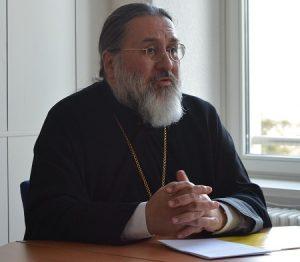 Bp Alexander delivers lecture in Fribourg on Great Lent| Епископ Вевейский Александр огласил доклад о значении великого поста
