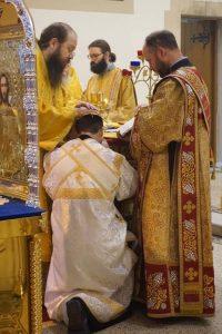 A Deacon is Ordained During the Archpastoral Visit of Bishop Irenei of London to the Cardiff Parish | Во время архипастырского визита епископа Лондонского Иринея в приход Кардиффасостоялась диаконская хиротония.