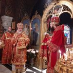 Bishop Irenei Congratulates Bishop Alexander of Vevey with the 65th Anniversary of His Birth. | Епископ Иреней поздравил епископа Вевейского Александра с 65-летием со дня его рождения. | Mgr Irenei félicite Mgr Alexandre de Vevey pour le 65e anniversaire de sa naissance.