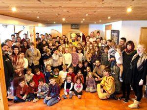 Зимний детский лагерь Кресто-воздвиженского Собора, Лейзан-Женева | A Winter Children's Camp is Held in Leysan by the Geneva Cathedral Parish