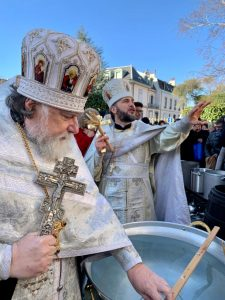 Theophany is Celebrated in Geneva, and a Child Joins the Lord in the Waters on the Day of His Baptism | Крещение Господне - Богоявление в Женеве