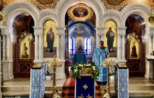 The Annunciation of the Theotokos is Prayerfully Marked in the Parishes of the Diocese