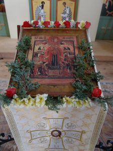 The Feast of the Mother of God 'Joy of All Who Sorrow' Celebrated in Mettingham, England