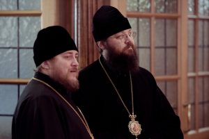 Bishop Irenei visits Bishop Matthew of Sourozh