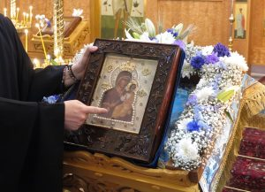 First Visit of the Myrrh-Streaming 'Hawaiian Icon' of the Theotokos to the Territory of the Diocese