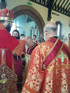 On the Altar Feast of the Wallasey Parish, 22nd July 2018, a Reader is Tonsured