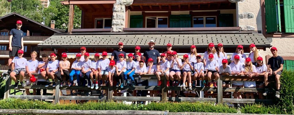 Children's Camp Begins in Switzerland | Детский лагерь начинается в Швейцарии