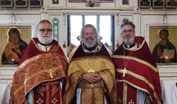 Parish of St Elisabeth in Wallasey Hosts First Concelebration in the United Kingdom of Priests from the Russian Orthodox Church Abroad, Moscow Patriarchate, and Exarchate of Paris
