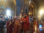 Епископ Ириней совершил архипастырский визит и совершил чин Воздвижения Креста. | Bishop Irenei Makes and Archpastoral Visit to Florence for the Feast of the Cross.