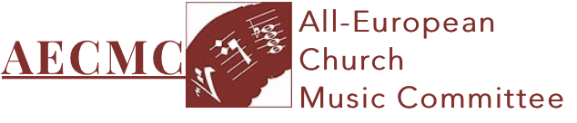 Notice of the All-European Church Music Committee.   Общеевропейского церковно-музыкального комитета.