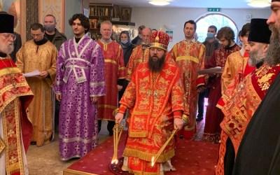 The Rite of Orthodoxy is Served in the Diocesan Cathedral. | Чин Торжества Православия совершился в кафедральном соборе.