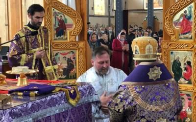 A New Deacon is Ordained in the Parish of St John the Wonderworker, Colchester. | В приходе святителя Иоанна Шанхайского Чудотворца в Колчестере состоялась диаконская хиротония.