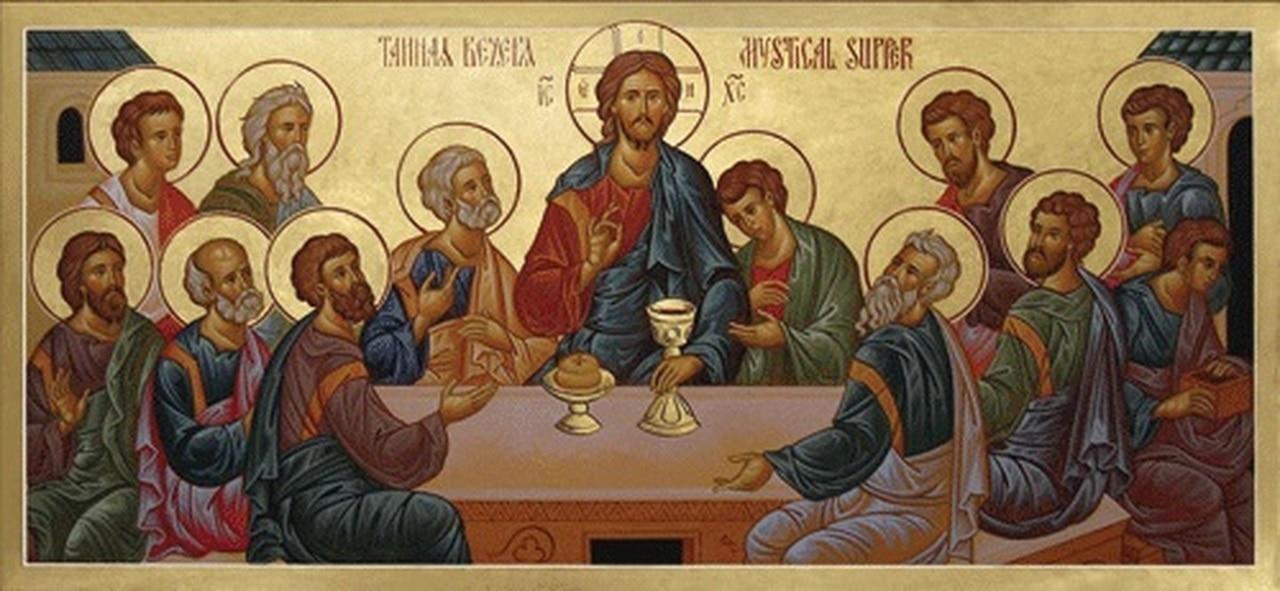 'Today, Christ Comes Anew to Us': Sermon for Great Thursday, 2021. | «Сегодня Христос заново приходит к нам»: проповедь в Великий четверг 2021 г.