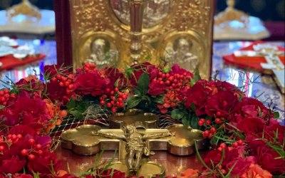 Images of the Precious Cross, Venerated Across the Diocese | Образы драгоценного Креста, почитаемого по всей епархии | Images de la précieuse Croix vénérée dans tout le diocèse