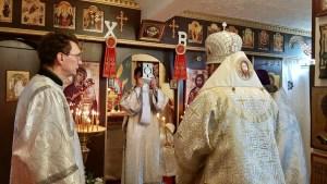Bishop Irenei Celebrates the Liturgy of St Thomas Sunday at the Parish of St Alexander Nevsky in Norwich, England. | В неделю Фомину епископ Ириней возглавил воскресную литургию в приходе св. Александра Невского в Норвиче, Англия.