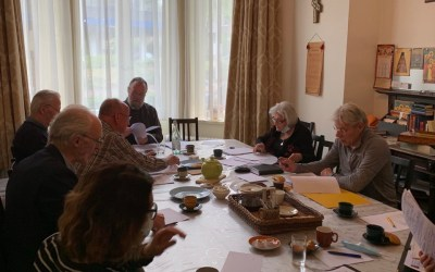 A Parish Meeting is Held in the Pokrov Parish, Arnhem, in the Joy of Pascha. | В Покровском приходе Арнема в период Пасхальных торжеств состоялось Общеприходское собрание.
