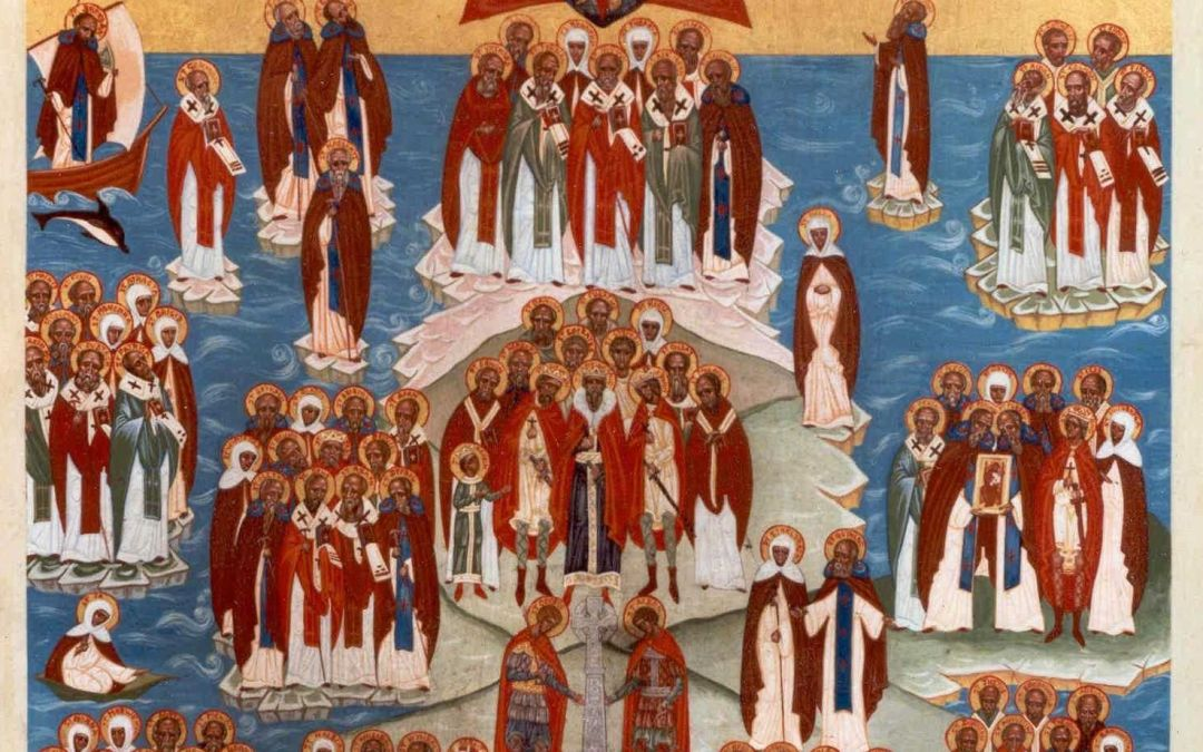 Feast of All Saints of the British Isles: An update from the Saints of the British Isles Liturgical Project
