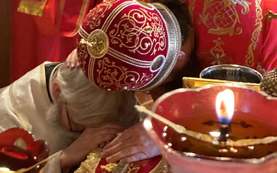 A New Deacon is Ordained at the Altar Feast of the Holy Royal Martyrs in London. | На престольном празднике святых Царственных мучеников в Лондоне был рукоположен новый диакон.