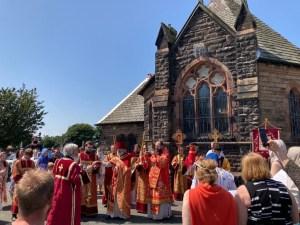 Bishop Irenei Celebrates the Altar Feast of the St Elisabeth Parish in Wallasey, England. | Епископ Ириней возглавил престольный праздник Свято-Елизаветинского прихода в Уолласи, Англия.