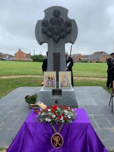 The 40th Anniversary of the Canonisation of the Tsar Martyr Nicholas, the Imperial Family and the Holy New Martyr Grand Duchess Elisabeth is kept at their memorial on the Isle of Wight.