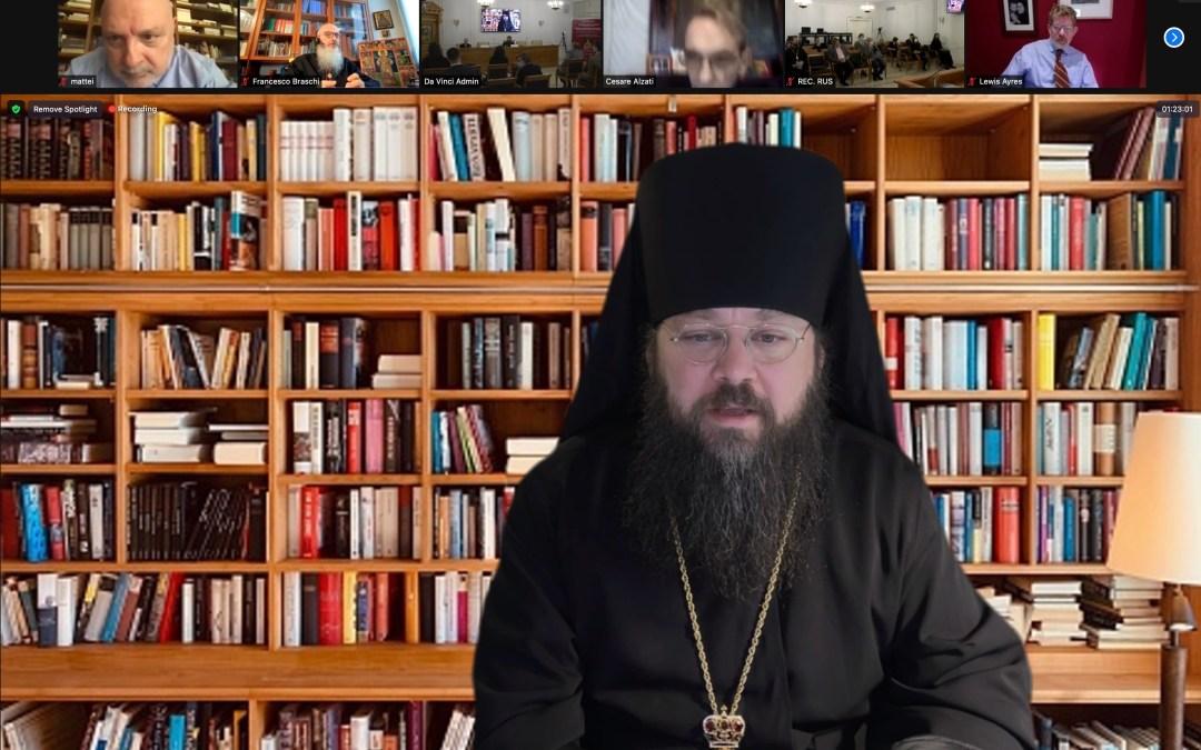 Bishop Irenei Participates in Moscow Patristics Conference on the Legacy of St Ambrose of Milan.   Епископ Ириней принял участие в Московской святоотеческой конференции, посвященной наследию святителя Амвросия Медиаланского.