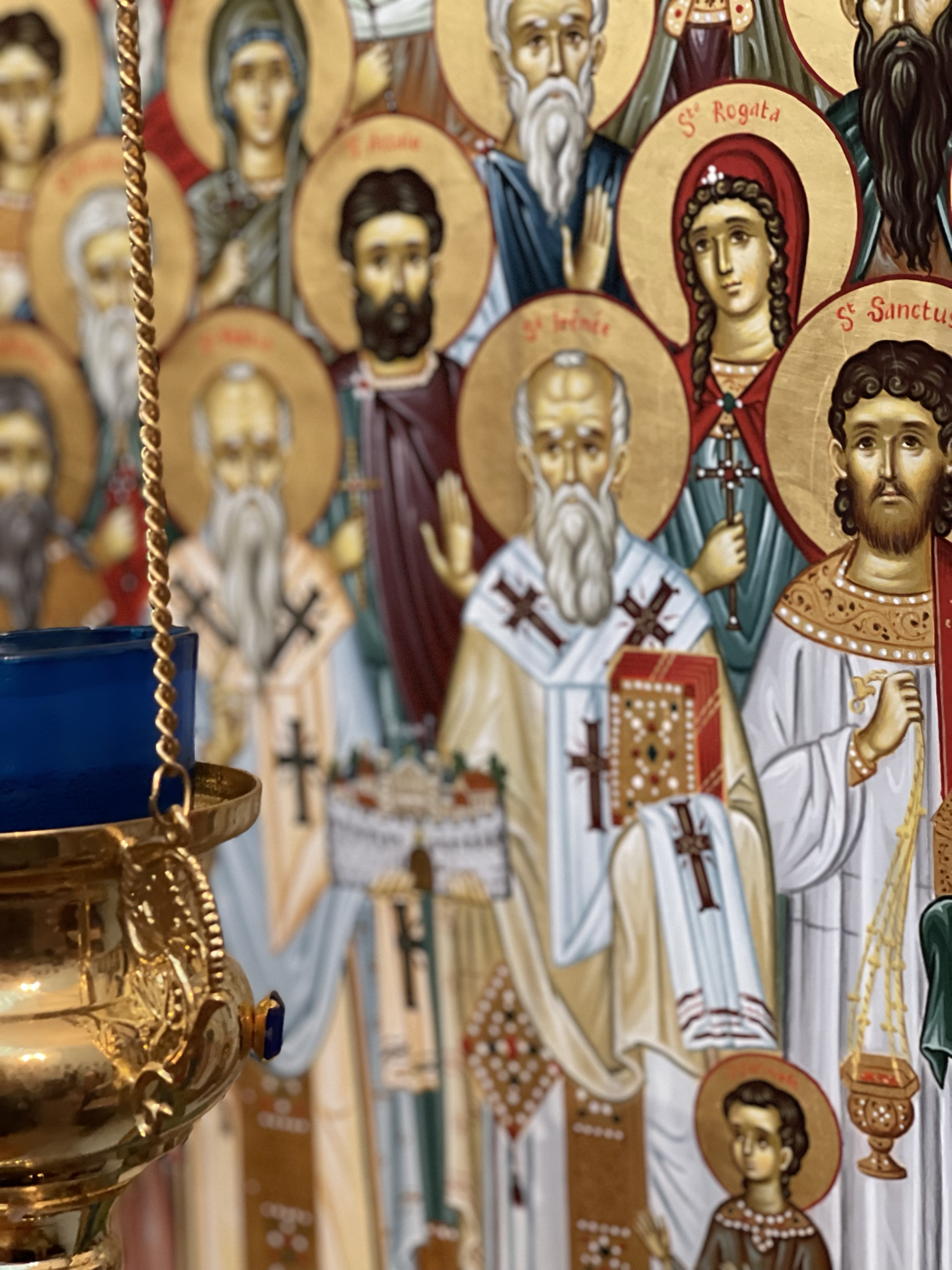 Sermon of Bishop Irenei for the Feastday of St Irenei of Lyon, Offered at the Tomb of the Saint.