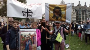 Diocesan Participation in the 'March for Life', London, 2021. | Шествие за жизнь 2021.