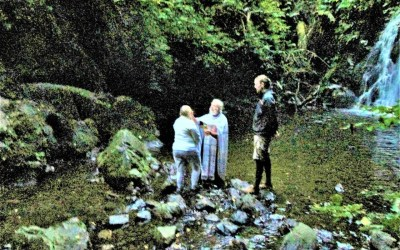 Outdoor Baptisms Performed in Northern Ireland.