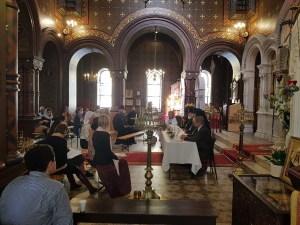 The Cathedral of the Exaltation of the Cross in Geneva, Switzerland, Holds its Annual Parish Meeting. | В Кресто-Воздвиженском кафедральном соборе в Женеве, Швейцария, состоялось ежегодное общеприходское собрание.